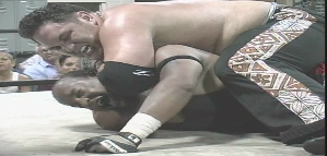 Samoa Joe vs Rainman
