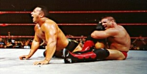 The Rock vs Shamrock