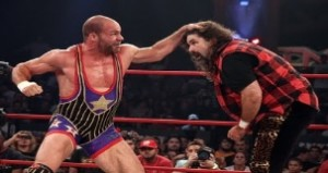 Kurt Angle vs Mick Foley