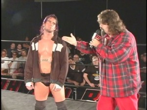 CM Punk Mick Foley ROH