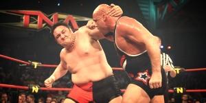 Kurt Angle vs Samoa Joe