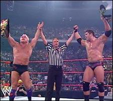 Batista Wins Tag Team title