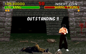 Liu Kang Wins Mortal Kombat 1