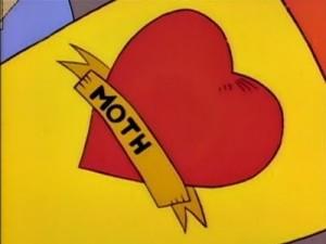 Bart Simpson Mother Tatto