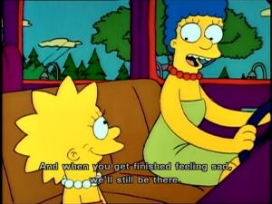 Marge and Lisa - Moaning Lisa