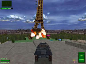 Twisted Metal 2Paris Blown