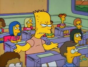 Bart Repeats the 8th Grade