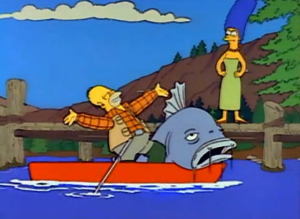 Homer Catches General Sherman