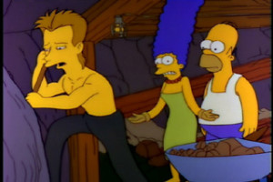 Sting The Simpsons