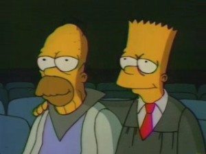 Future Homer & Bart Itchy & Scratchy The Movie