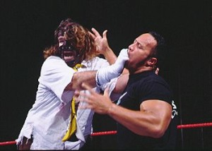 Mankind vs. The Rock