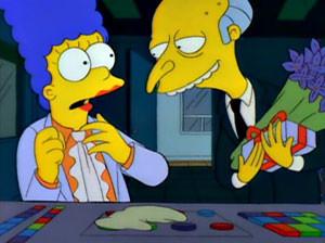 Marge Simpson & Mr. Burns