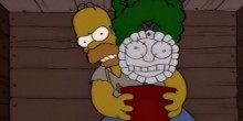 Homer Simpson Marge Plant