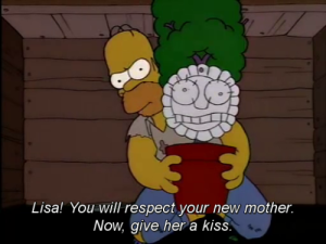 Marge Plant The Simpsons