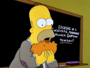 marriage is like an orange The Simpsons