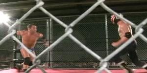 Roderick Strong vs El Generico ROH Steel Cage