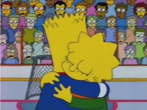 Bart and Lisa Lisa on Ice