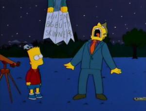 Buttzilla - Bart's Comet