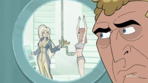 Brock Samson Spying Molotov Cocktease - The Venture Bros. Season 5 O.S.I. Love You
