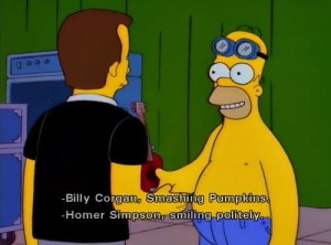 Homer Simpson & Billy Corgan - Homerpalooza